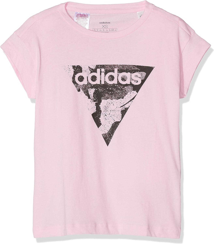 papel Adjuntar a Mirar furtivamente  Amazon.com: adidas Girls Tshirt Young Style Fashion Training Essentials  Loose Tee e Tee: Clothing