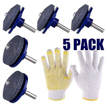 Amazon.com: TUPARKA 5 paquetes de afilador de cuchillas para ...