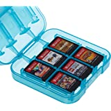 AmazonBasics Game Storage Case for 24 Nintendo Switch Games - 3.4 x 3.4 x 1 Inches