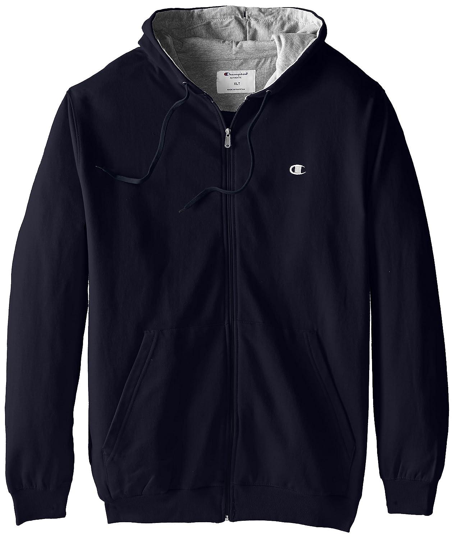 Champion Men's Big & Tall Full-Zip Fleece Hooded Jacket at Amazon Men's  Clothing store: