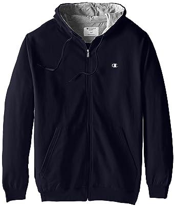 Champion Men s Big   Tall Full-Zip Fleece Hooded Jacket at Amazon ... 5881715a641c