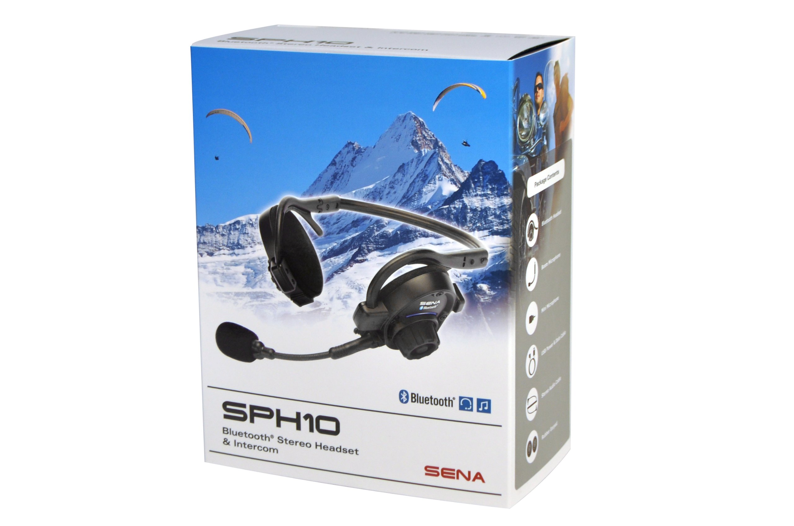 Sena SPH10-10 Outdoor Sports Bluetooth Stereo Headset / Intercom by Sena (Image #7)