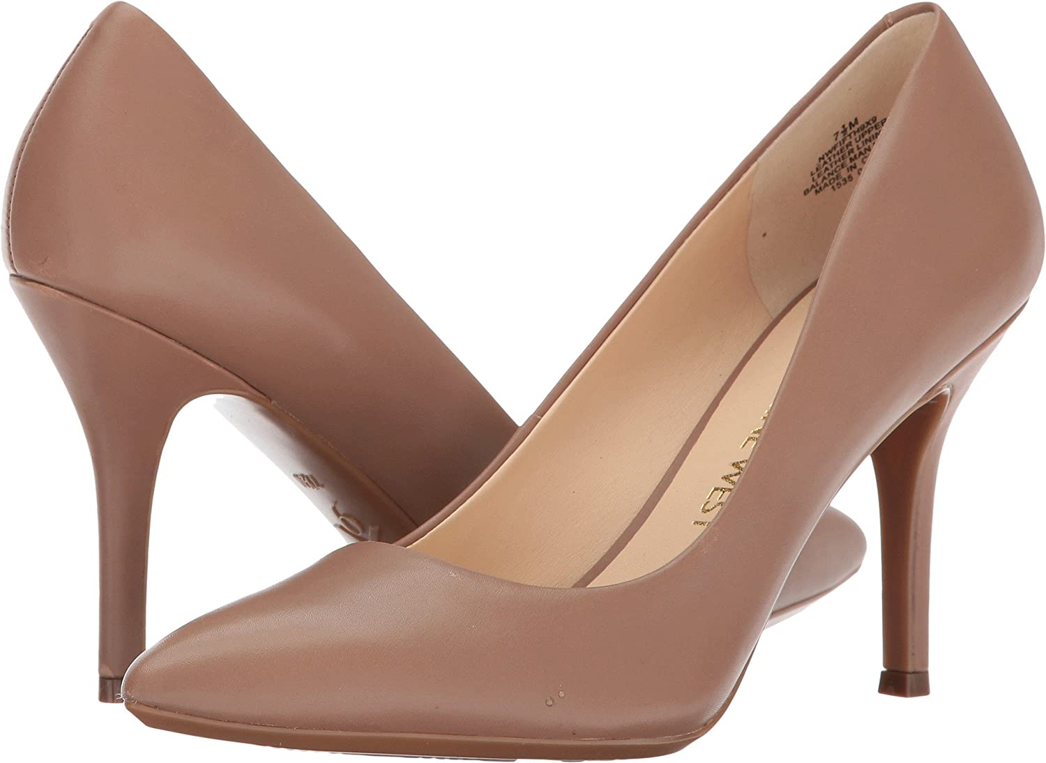 Nine West Women's FIFTH9X Fifth Pointy Toe Pumps B075HZ9KFC 6 C/D US|Natural Leather
