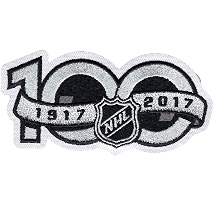 916a4c053 Image Unavailable. Image not available for. Color  National Hockey League  NHL 100th Anniversary Jersey Sleeve Logo Patch 2017 Season