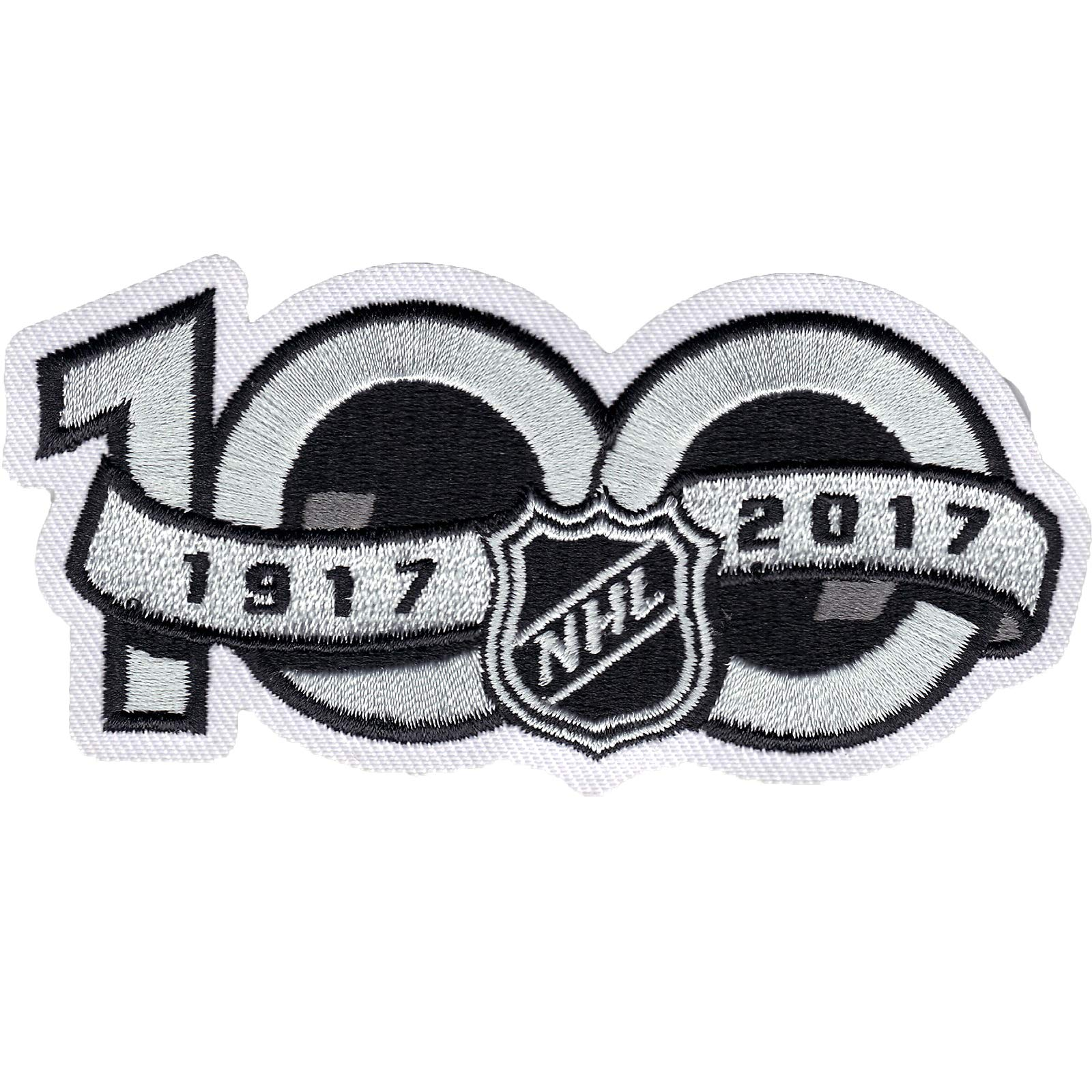 79dfde5b713 Amazon.com : National Hockey League NHL 100th Anniversary Jersey Sleeve  Logo Patch 2017 Season : Clothing