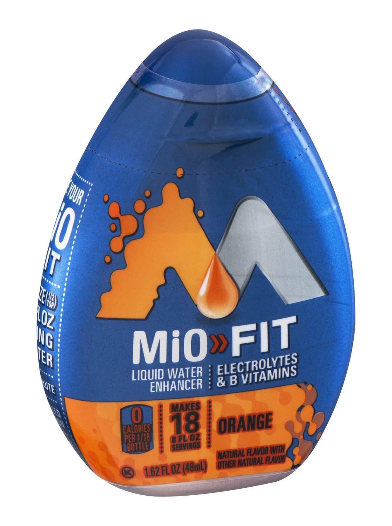 Mio MiO Fit Liquid Water Enhancer Orange Flavor 1.62 OZ (Pack of 12)