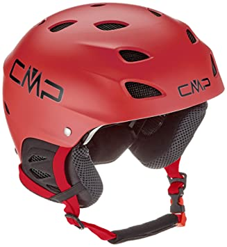 CMP xj-3, Casco Unisex niños, 38B4684, C580 Ferrari, Small