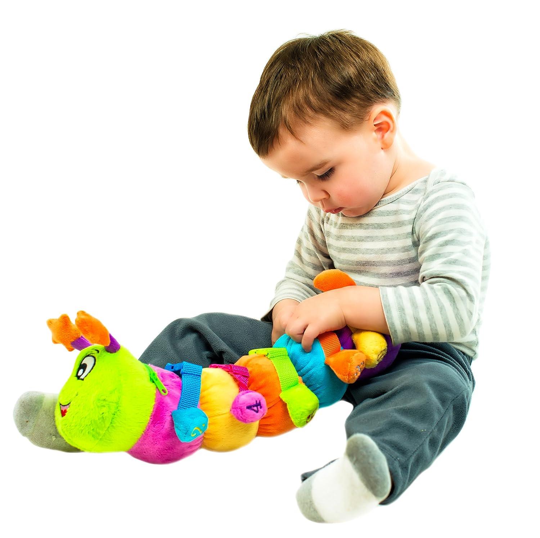 "Amazon BUCKLE TOY ""Bentley"" Caterpillar Toddler Early"