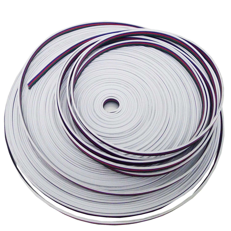 Amazon.com: LEDENET 5M RGBW Extension Cable Line 5 Color for RGBW ...