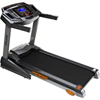 Durafit 001 Strong Motorized Foldable Treadmill (Black)