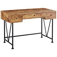 Deals on Coaster Home Furnishings Glavan 3-Drawer Writing Desk