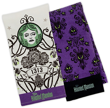 The Haunted Mansion Dish Towel Set | Home & Décor | Women | Adults | Halloween | Disney Store