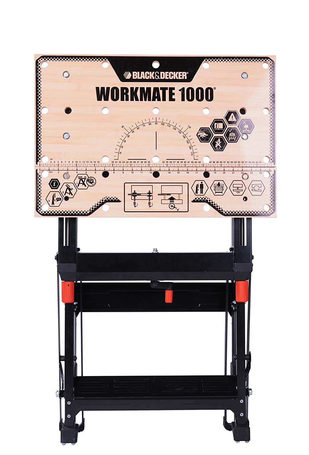 Black and decker workmate 1000 review - Black Decker Workmate 1000 Wm1000 Xj Clamping Table Amazon Co Uk Diy Tools