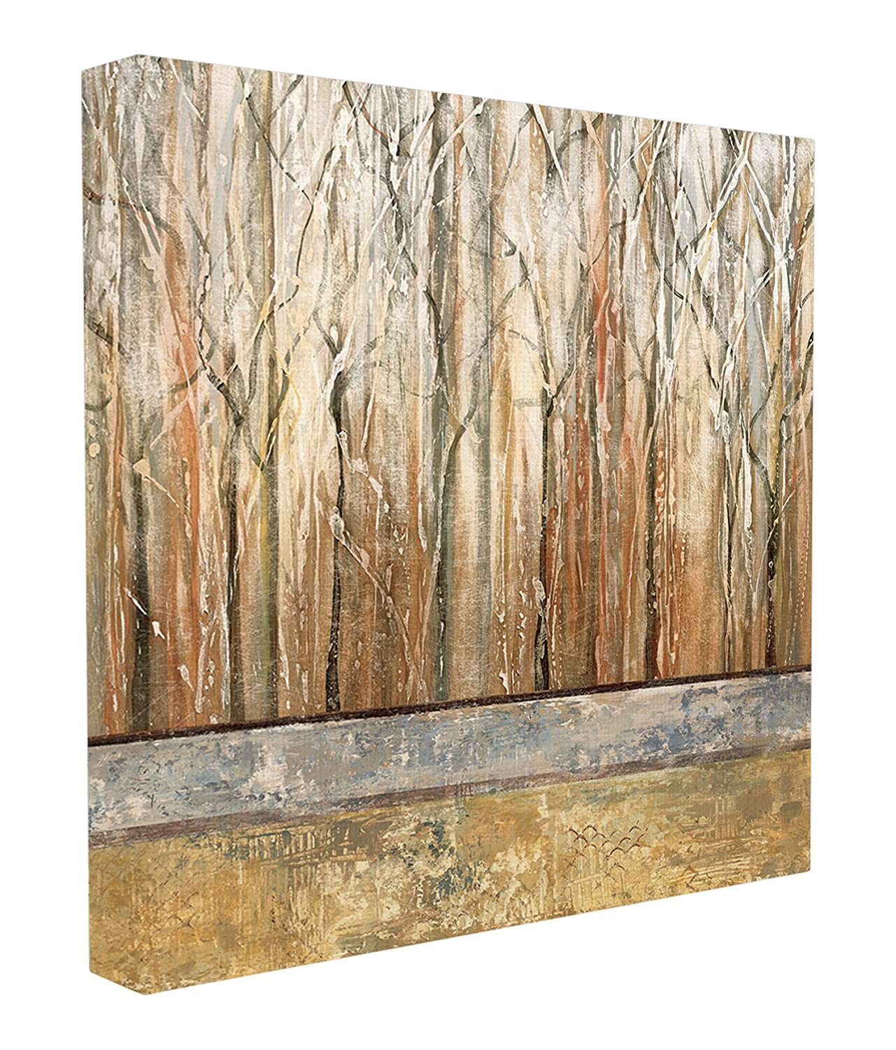 Proudly Made in USA Stupell Industries ccp-149/_cn/_24x24 24 x 1.5 x 24 Stupell Home D/écor Autumn Thicket Landscape Oversized Stretched Canvas Wall Art