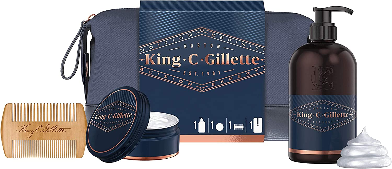 Kit da barba Gillette King C.