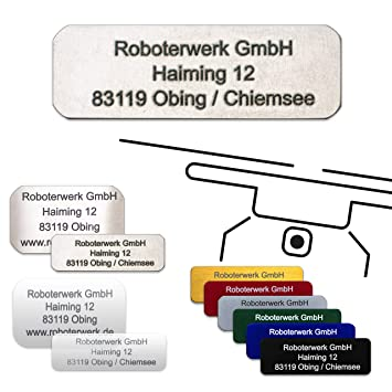 Roboterwerk - Placa para Drones (Aluminio anodizado, Titanio ...