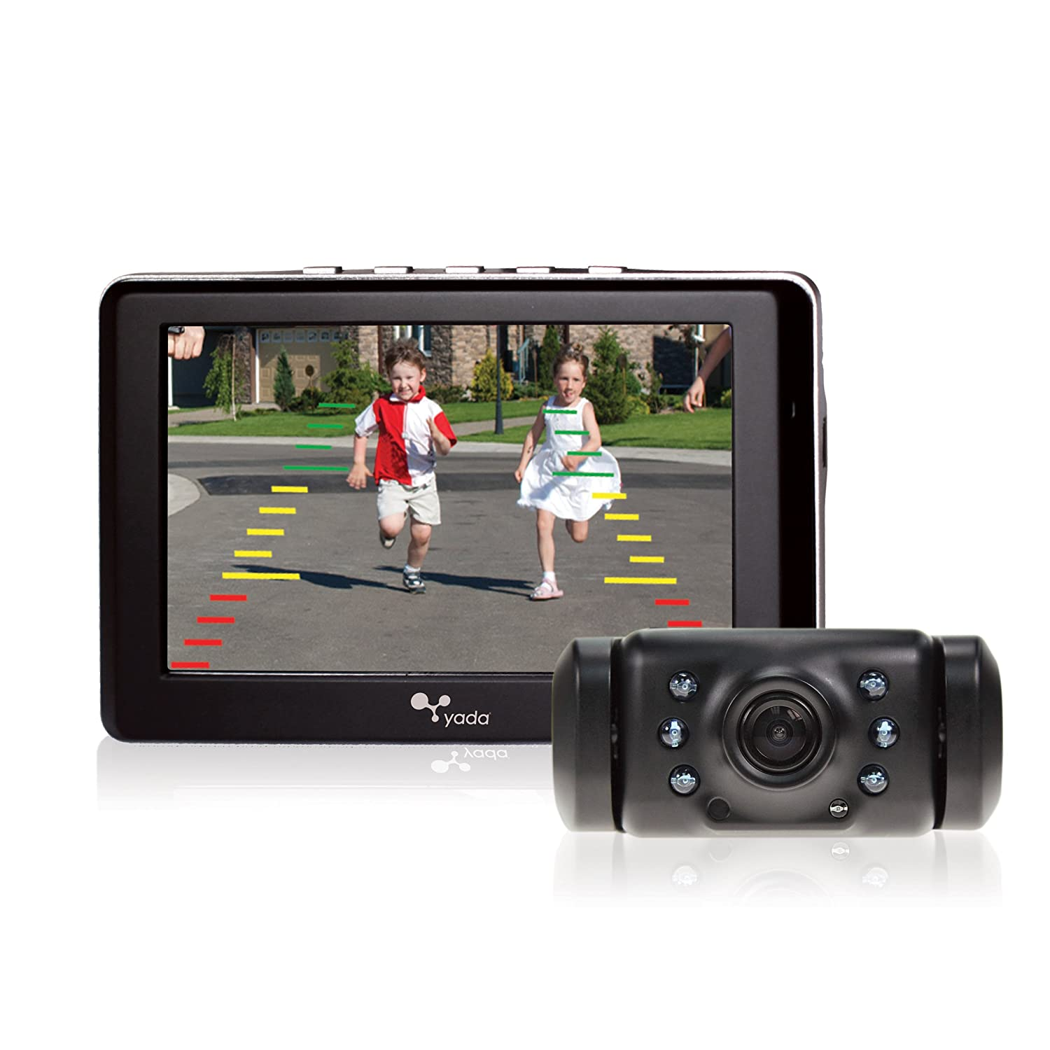 amazon com yada digital wireless backup camera with 4 3 dash rh amazon com yada backup camera wireless 5 monitor Yada Backup Camera Costco