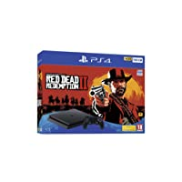PlayStation 4 (500GB) Console and Red Dead Redemption 2 Bundle