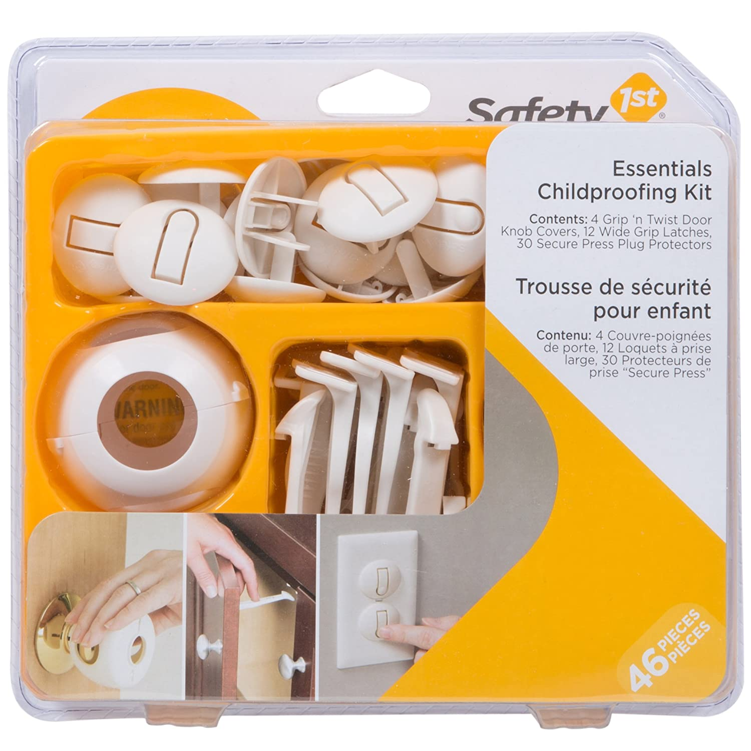 Safety 1st 00HS145 Essentials Child Proofing Kit, 46-Piece