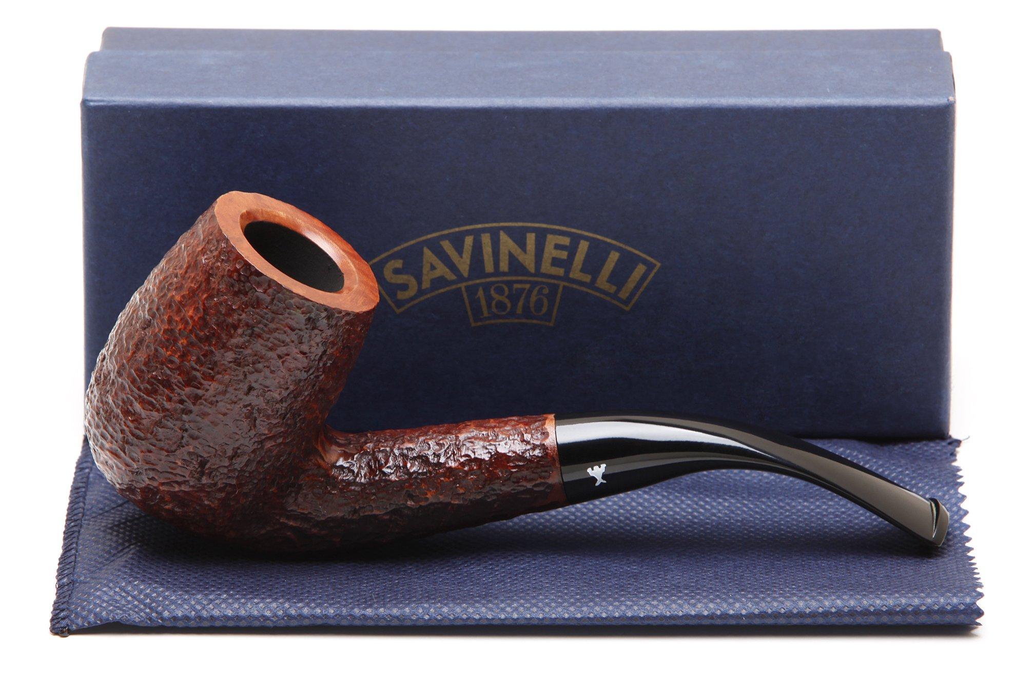 Savinelli Hercules Brownblast EX 606 Tobacco Pipe by Savinelli