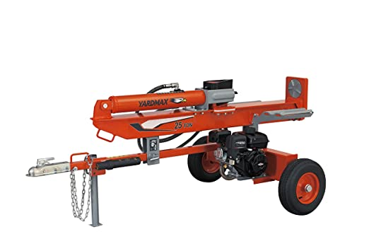 YARDMAX YU2566 25 Ton Full Beam Gas Log Splitter - Best Heavy-Duty Model