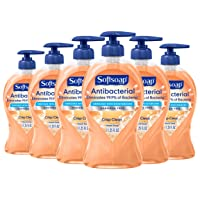 Deals on 6-Pack Softsoap Antibacterial Liquid Hand Soap 11.25 ounce