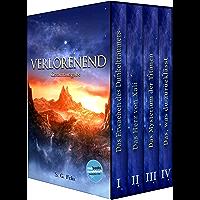 Verlorenend - Fantasy-Epos (Gesamtausgabe): Band I - IV (German Edition)
