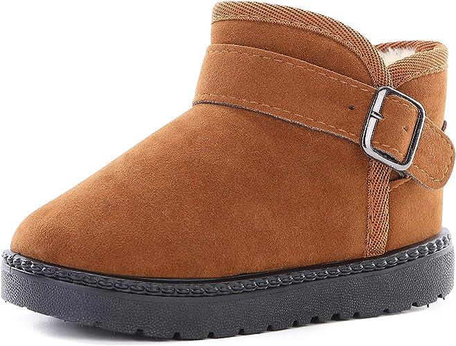 KKIDSS Snow Boots for Girls Boys Winter
