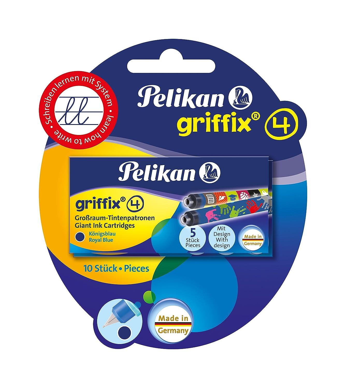 Pelikan 0F1F37 Griffix Cartuccia Inchiostro per Stilografica Royal, Confezione 10 960559