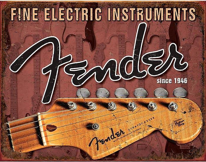 Top 10 Fender Guitar Decor