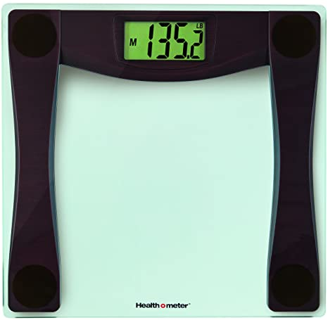 Amazon.com: Health o Meter Glass Scale with Weight Tracking ...