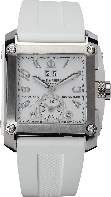 Baume Mercier Men s 8839 Hampton Square XL Automatic Diamond Watch