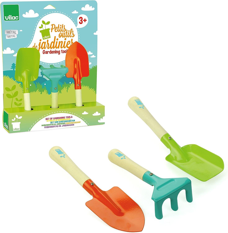 Vilac 3803 Petits Outils De Jardinier
