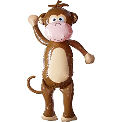 Bewild Huge Inflatable Monkey - Over 5 Feet Tall!: Toys & Games