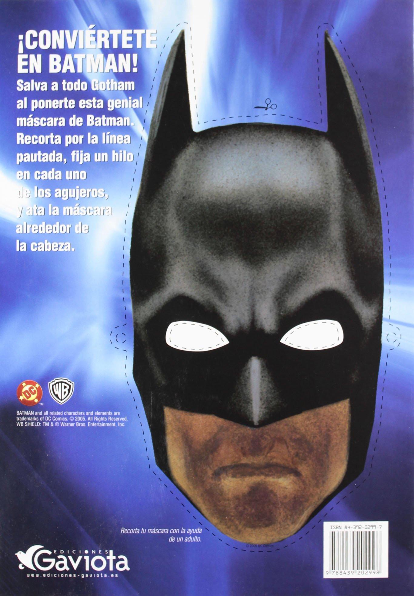 Yo soy Batman. Libro de colorear y actividades Batman Begins: Amazon ...