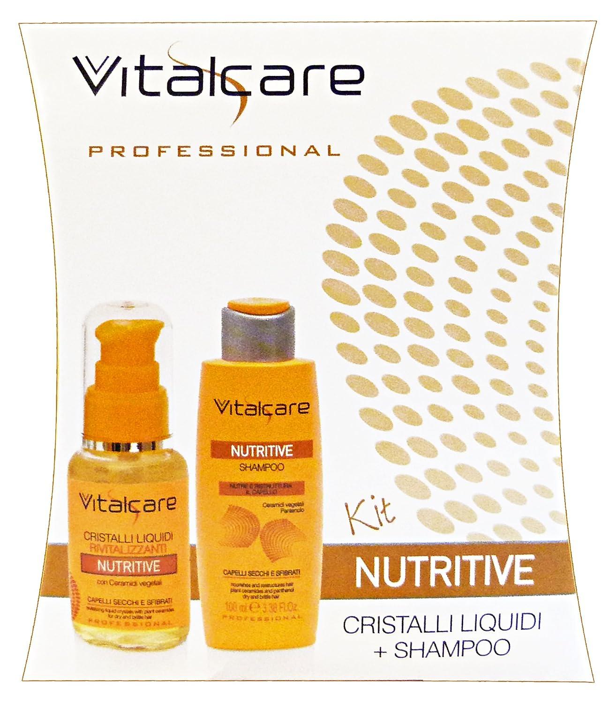 VITALCARE Cristalli liquidi +shampoo 100 ml. nutritive