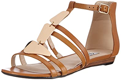 cb3df40dc Clarks Women s Studio Star Open Toe Sandals Brown Size  6  Amazon.co ...