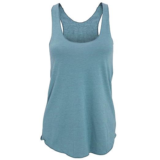 e5eb08b20d2a7d American Apparel Womens Ladies Plain Tri-Blend Racerback Tank Vest Top (XS