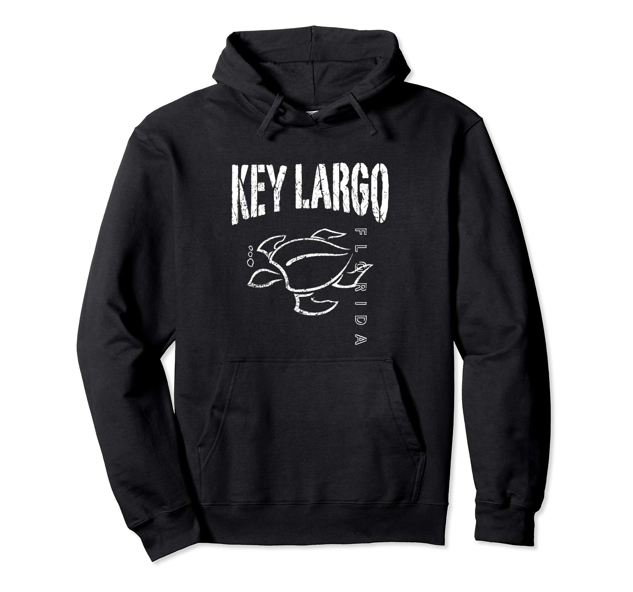 Key Largo Florida Souvenir Vacation Gift Sea Turtle Pullover Hoodie by KEY LARGO Souvenir Gift Florida Sailing FL