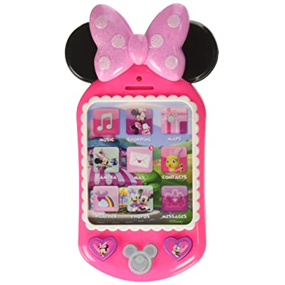 Minnie Bow-Tique Why Hello! Cell Phone: Toys & Games