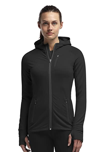 Amazon.com  Icebreaker Merino Quantum Long Sleeve Zip Hoodie, Zealand  Merino Wool  Sports   Outdoors 1a4be72620
