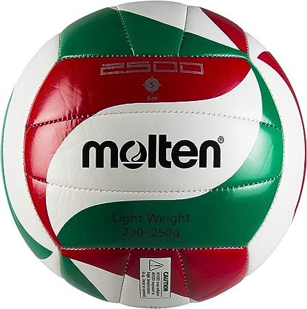 TALLA Taille 5 EU. MOLTEN v5m2501L 5501500Hombre Ballone Volley Rojo