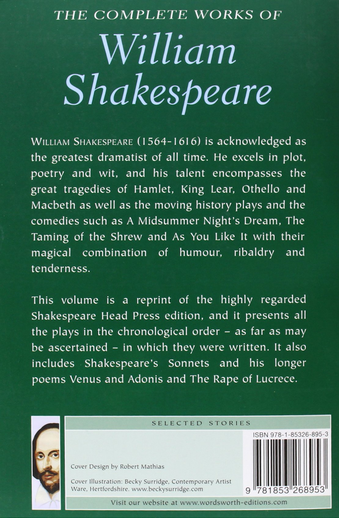 complete works of william shakespeare william shakespeare complete works of william shakespeare william shakespeare 9781853268953 books ca