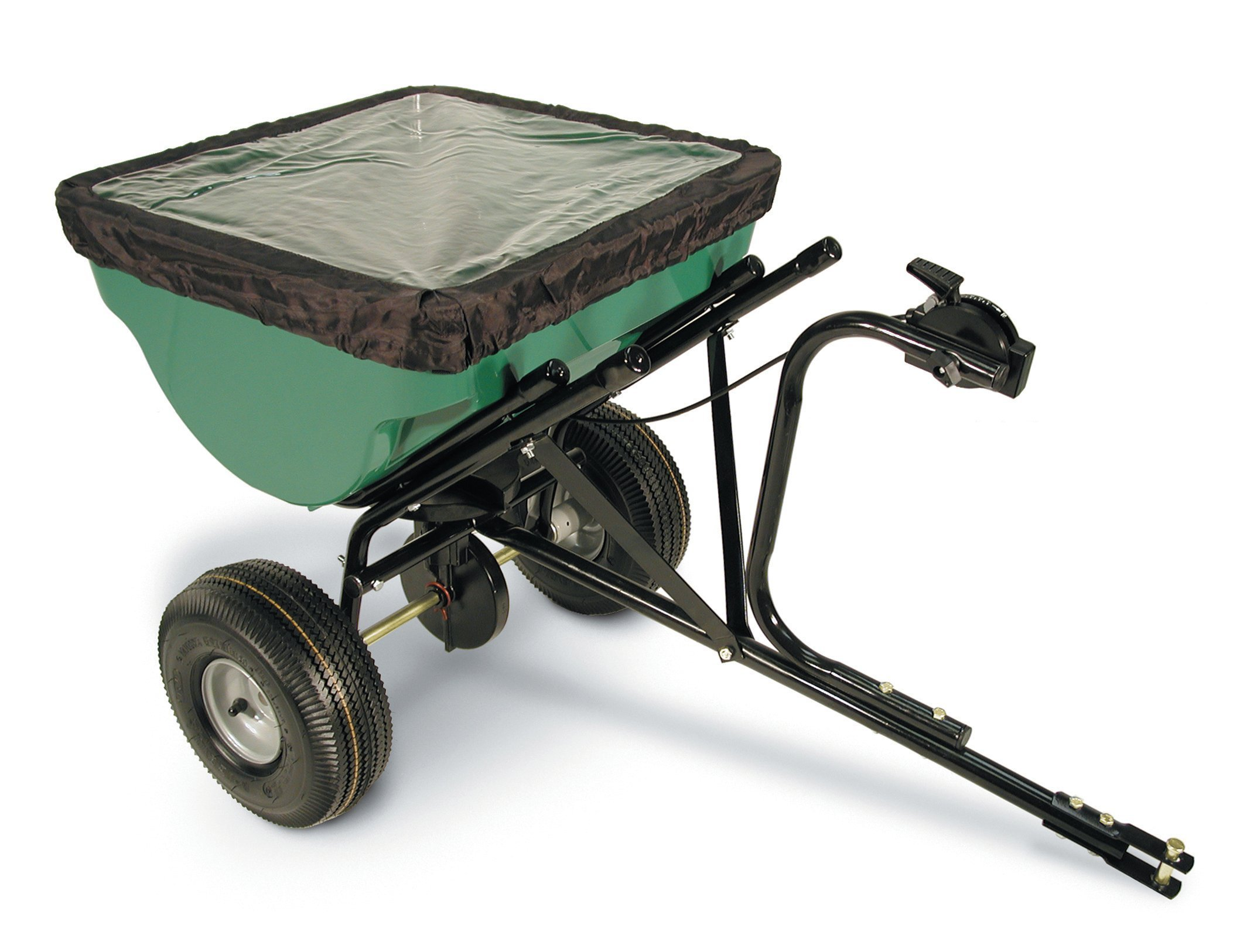 Precision Products 100-Pound Capacity Tow-Behind Semi-Commercial Broadcast Spreader TBS4500PRCGY by Precision Products