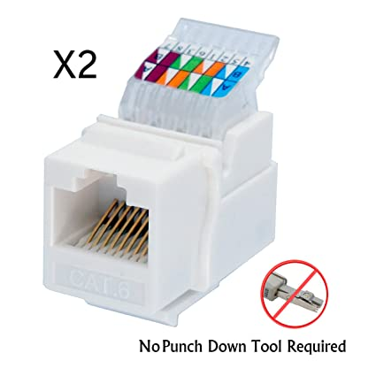 Super Amazon Com Idc Rj45 Cat6 Cat5E Tool Less No Punch Down Tool Wiring Database Gentotyuccorg