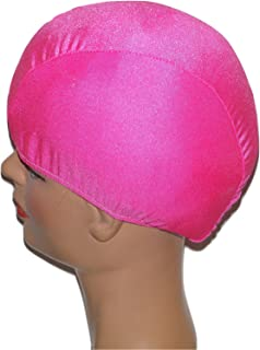 product image for Extra Large Neon Pink Lycra Swim Cap (XL)