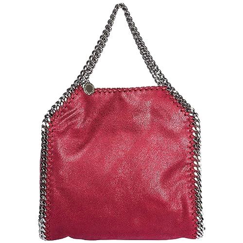 Stella McCartney borsa a mano Falabella Mini donna rosso opera  Amazon.it   Scarpe e borse e1ad3135eb6