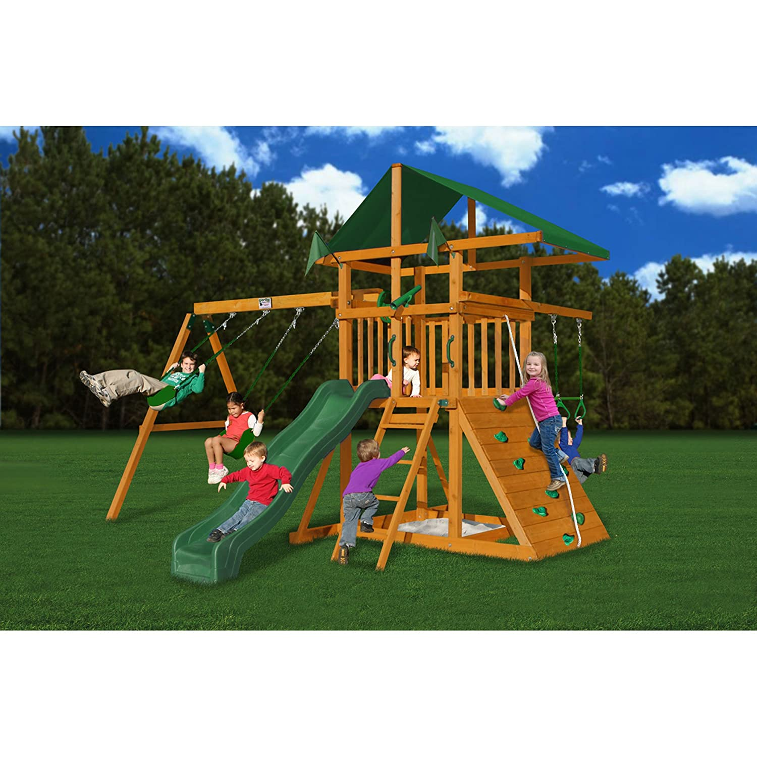 Amazon Gorilla Playsets Outing III Playground System Toys