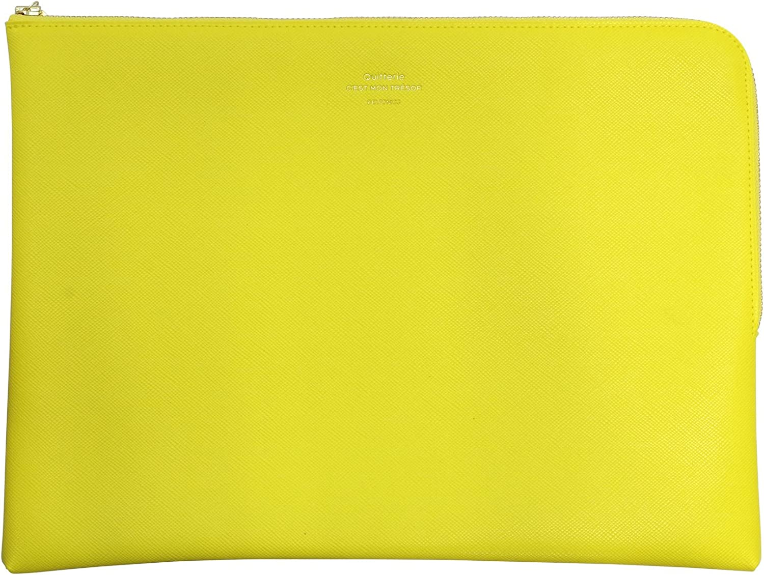 Quitterie Pouch Size L 500346 Yellow DELFONICS