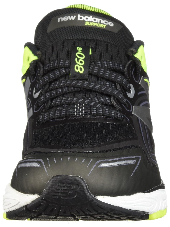 New Balance Unisex Kid's 860v8 Running-schuhe, schwarz schwarz schwarz Hi Lite, 12 M US Little Kid 51ac50